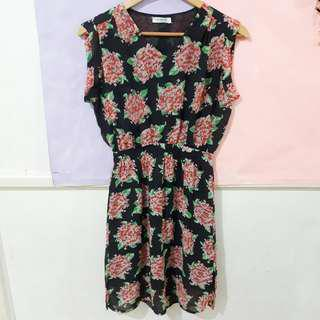 Folded & Hung Floral Dress (100% Original)