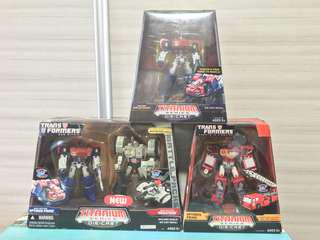 Transformers Titanium Diecast Series - RID / War Within Optimus Prime and Megatron