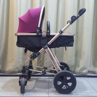 JiaoBei 3 Modes Baby Stroller (Used)