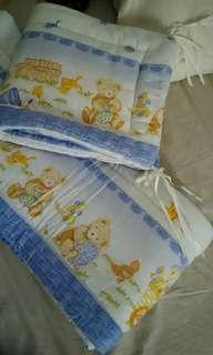 Bumper box bayi tedy bear Rp.200.000