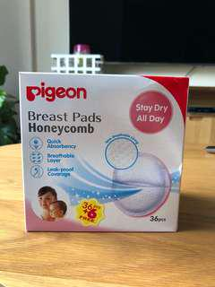 Pigeon Breast Pads Honeycomb - est 28 pcs