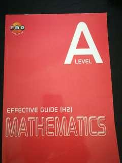 A Level H2 Math guide book