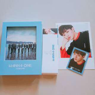 [WTS] WANNA ONE TO BE ONE JISUNG FULL SET ALBUM