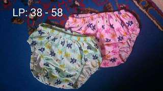 Celana dalam anak dan balita murah motif lucu imut