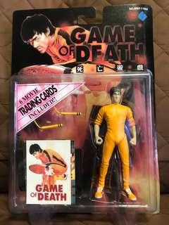 全新 港版 李小龍 Bruce Lee 龍爭虎鬥 Fist of Fury 精武門 死亡遊戲 Figure 景品