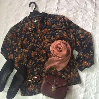 Preloved Floral Top