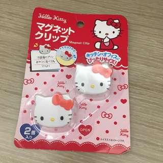 Hello Kitty magnet clip 磁石夾