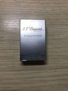 全新 正貨 S.T. Dupont Eau De Toilette 5ml