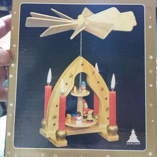 Christmas pyramid - wooden German decoration