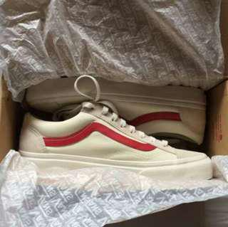 Vans Marshmallow Style 36 Red