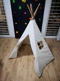 Kids Fabric Teepee Tent