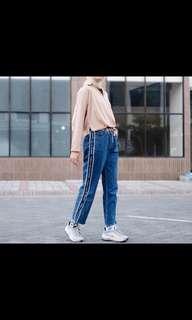 Boyfriend jeans - Baca caption!