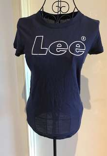 Lee navy blue t-shirt (new without tags)  size S