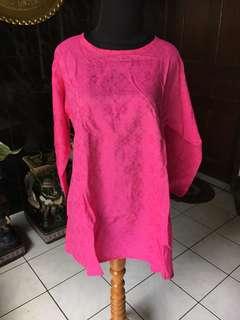 Blouse Pink Batik