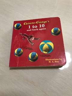Curious George counting book