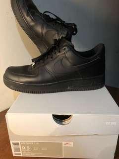 🚚 Nike Air Force 1 all black