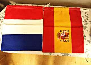 HACKETT LONDON SPAIN/FRANCE COTTON DUSTBAG/SHOEBAG