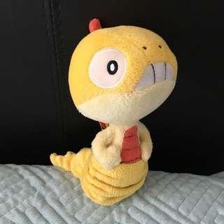 Scraggy Pokemon mini plush