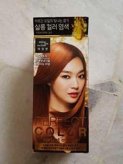 Miseen Scene hair colour- Apricot Orange