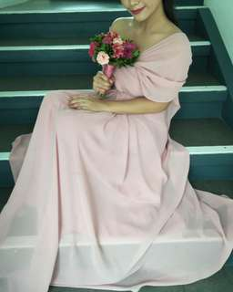 Old Rose Gown for RENT