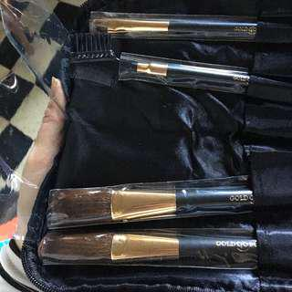 Makeup brush & zip bag set
