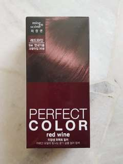 Miseen Scene hair colour- Red Wine (2)