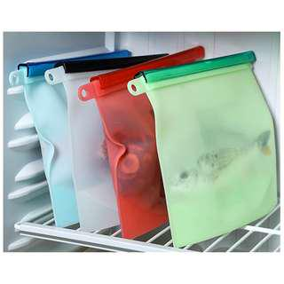 🚚 1500ml Food Grade Silicon Storage Bag