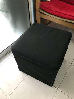 Small cute stool with storage