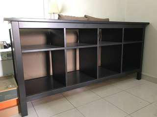Good condition dark brown bookshelf