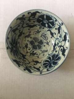雙重青花瓷碗