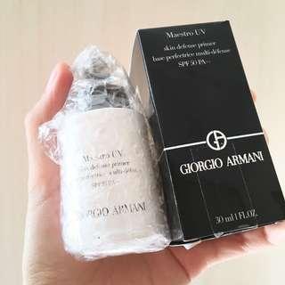 [包郵]6折🈹️GIORGIO ARMANI Maestro UV 輕紗透亮防護妝前底霜 Skin Defense Primer SPF50 PA++ (30ml)
