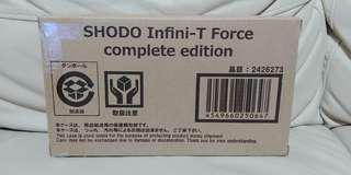Premium Bandai 魂限 掌動 SHODO INFINI-T FORCE complete edition 神勇飛鷹俠 宇宙騎士 破裏拳旋風俠 再造人卡辛 一盒四隻 ( 歡迎提問)