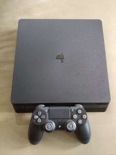 PS4 Slim + 1 Year Warranty!