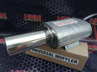 Muffler fujitsubo racing setenliss