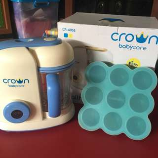 Crown baby care food processor