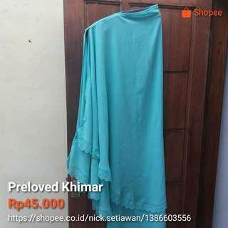 Preloved Khimar Ceruty