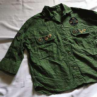 Army Green Polo