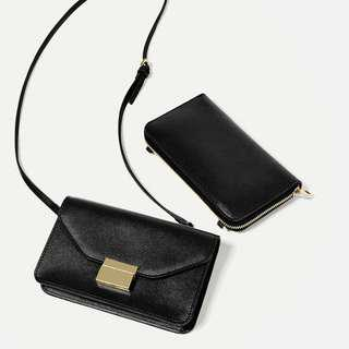 Zara Detachable Crossbody Bag