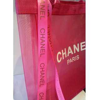 Chanel VIP Gift Pink Tote/Shopping Bag