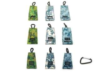 No.4 Key Tag Mini Rank (Army / Navy / Airforce Pixelated) ME4, 2LT, LTA, CPT. DG #2798. Please Specify Rank & Colour when order. Measurement : 3.5 x 5.5cm.