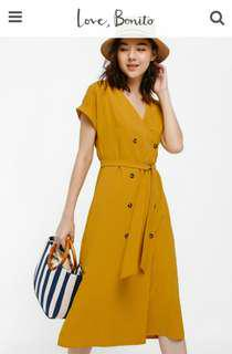 Ottelia Wrap Button-up Dress