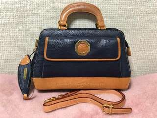 Double fish leather handbag/sling 💯% Authentic