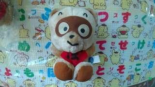 Sanrio Pokopon Diary 狸貓 浣熊日記 全新 1991年 日本限定公仔 16cm