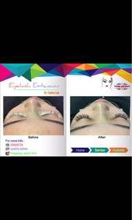 Eyelash extension murah only 100k