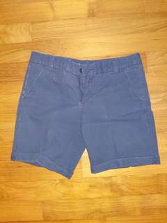 Gap boyfriend shorts size 0