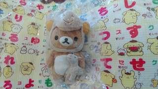 Rilakkuma 啡熊扮馬 2014年 日本限定公仔 鬆弛熊 全新日版 san-x 有紙牌 20cm
