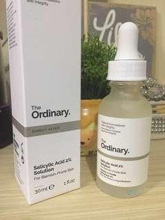 The Ordinary Salicylic Acid 2% Solution 30ml (baru dipakai 5 tetes)