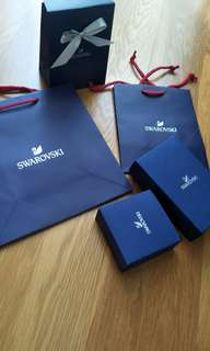 Swarovski Paper Bag and Box