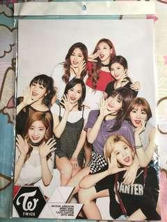 Twice Poster 韓國正版 全新未開封