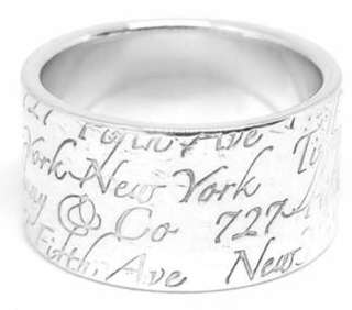 Tiffany and Co Notes Ring